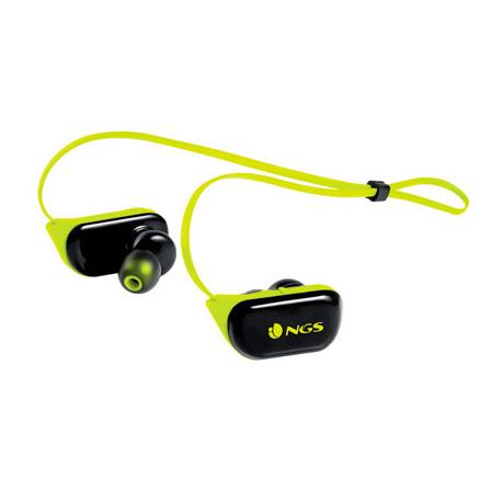 Auricular ngs artica ranger bluetooh con microfono color amarillo