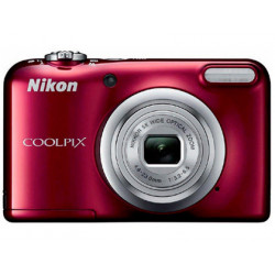 Camara digital nikon coolpix a10 roja 161 mpx zoom optico 5x graba video h