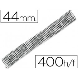 Espiral metalico qconnect 56 41 44mm 12mm caja de 25 unidades