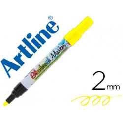Rotulador artline glass marker especial cristal borrable en seco o humedo c
