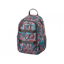 Cartera escolar pelikan kids backpack graphic 400x300x170 mm