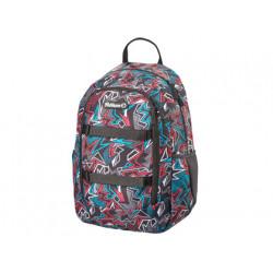 Cartera escolar pelikan kids backpack graphic 400x300x170 mm