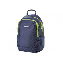 Cartera escolar pelikan teens backpack navy 400x300x200 mm