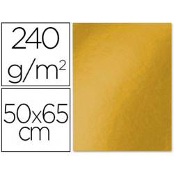 Cartulina liderpapel 50x65 cm 240g/m2 oro viejo paquete de 25 unidades