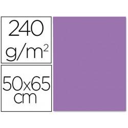 Cartulina liderpapel 50x65 cm 240g/m2 purpura paquete de 25 unidades