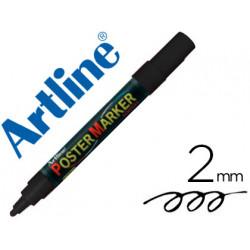Rotulador artline poster marker epp4neg punta redonda 2 mm color negro