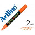 Rotulador artline poster marker epp4nar flu punta redonda 2 mm color nara