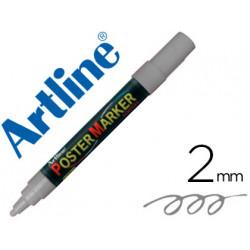 Rotulador artline poster marker epp4pla met punta redonda 2 mm color meta