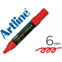 Rotulador artline poster marker epp6roj punta redonda 6 mm color rojo