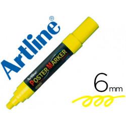 Rotulador artline poster marker epp6ama fluo punta redonda 6 mm color ama