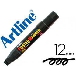 Rotulador artline poster marker epp12neg punta redonda 12 mm color negro