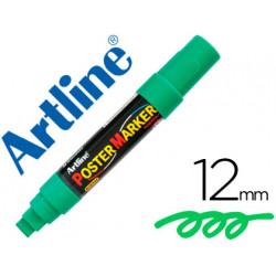 Rotulador artline poster marker epp12ver punta redonda 12 mm color verde