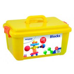Juego miniland interstar blocks 100 piezas