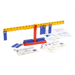 Juego miniland balanza numerica 20 pesas + 10 colgadores