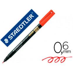 Rotulador lumocolor staedtler retroproyeccion punta de fibra permanente 319