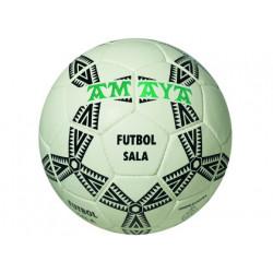 Balon amaya de futbol sala senior cuero clarino cosido n 4