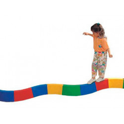 Pasillo amaya para equilibrio acoplable semicircular curvo longitud 30cm ca