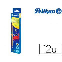 Lapices de grafito pelikan hexagonal hb caja de 12 unidades