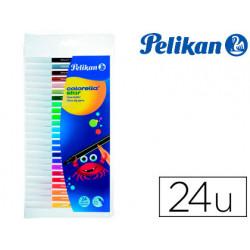 Rotulador pelikan colorella star caja de 24 colores