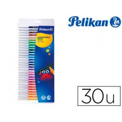 Rotulador pelikan colorella star caja de 30 colores