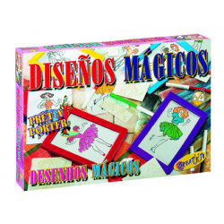 Juego de mesa falomir diseños magicos