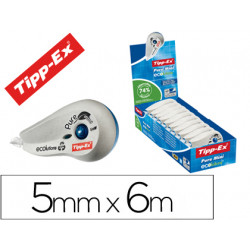 Corrector tippex pure tape mini 5mmx 6mt