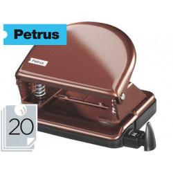 Taladrador petrus 52 cobre perla capacidad 20 hojas