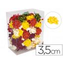 Lazos fantasia adhesivos 35cm diametro caja de 75 unidades