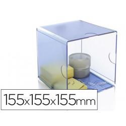 Archicubo archivo 2000 hueco organizador modular plastico 155x155x155xmm in