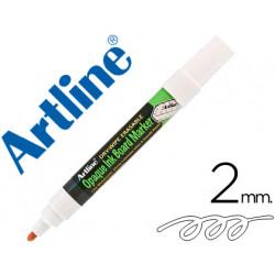 Rotulador artline pizarra epd4 color blanco opaque ink board punta redonda