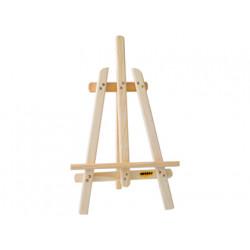 Caballete pintor madera sobremesa 40cm