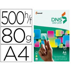 Papel fotocopiadora dns premium especial inkjet din a4 80 gr paquete de 50