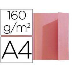 Subcarpeta exacompta din a4 rosa 160g/m2 con solapa interior