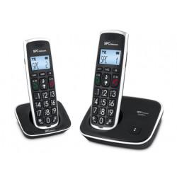 Telefono inalambrico spc telecom 7243n negro identificador de llamadas agen