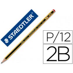 Lapices de grafito staedtler noris n0 2b unidad