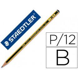 Lapices de grafito staedtler noris n1 b unidad