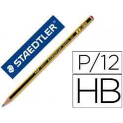 Lapices de grafito staedtler noris n2 hb unidad