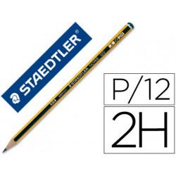 Lapices de grafito staedtler noris n4 2h unidad