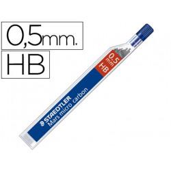 Minas staedtler mars micro grafito 05 mm hb tubo con 12 minas