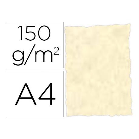 Papel pergamino din a4 troquelado 150 gr color parchment topacio paquete de