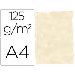 Papel pergamino din a4 troquelado 125 gr piel elefante color hueso paquete