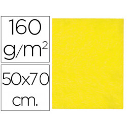 Fieltro liderpapel 50x70 cm amarillo 160 g/m2