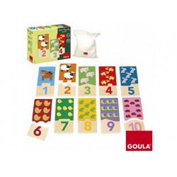 Puzzle goula infantil duo 110