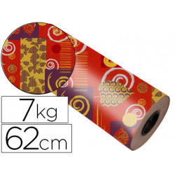 Papel fanstasia kraft havana todo el año bobina 62 cm 7 kg