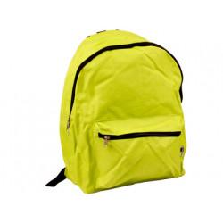 Cartera escolar liderpapel mochila verde claro 400x300x170 mm