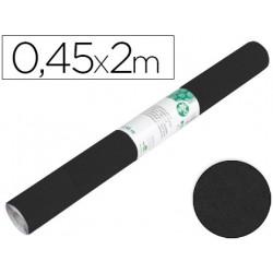 Rollo adhesivo liderpapel especial ante negro rollo de 045 x 2 mt