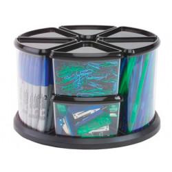 Organizador sobremesa plastico archivo 2000 con 9 compartimentos en forma t