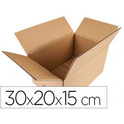 Caja para embalar qconnect americana medidas 300x200x150 mm espesor carton
