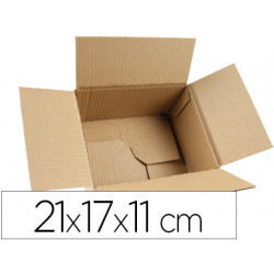 Caja para embalar qconnect fondo automatico medidas 210x170x110 mm espesor