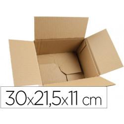 Caja para embalar qconnect fondo automatico medidas 300x215x110 mm espesor
